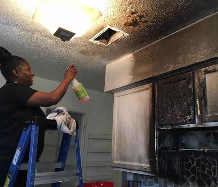 Kitchen Fire Clean-up